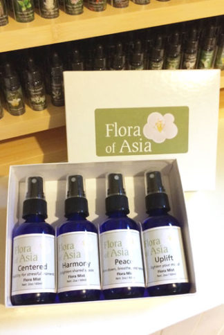 flower essence and essential oil mists